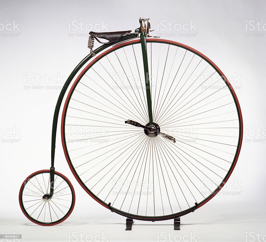 Penny Farthing Vintage Bicycle stock photo