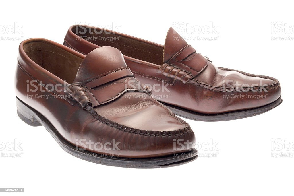 Penny Loafers stock photo