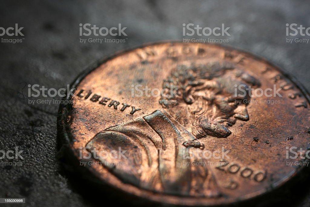 penny macro 2000 stock photo