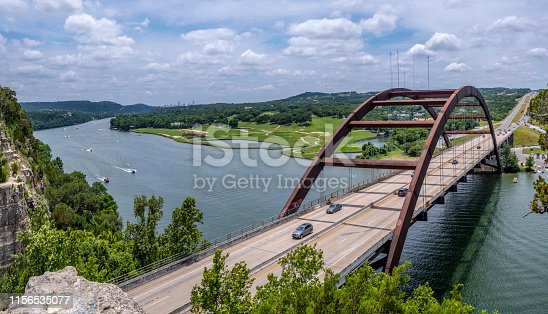 Pennybacker Bridge near Austin Texas