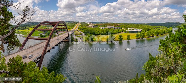 Pennybacker Bridge near Austin Texas