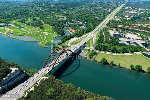 501329818istockphoto Pennybacker 360 bridge on Colorado River near Austin Texas 450518911