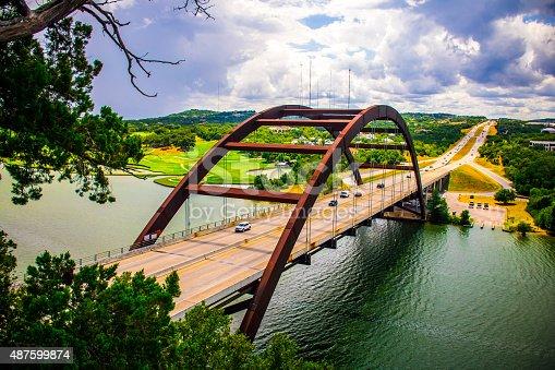 501329818istockphoto Pennybacker Bridge or 360 Bridge September 2015 USA Capital of Texas 487599874