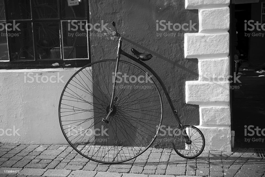 Penny-farthing stock photo