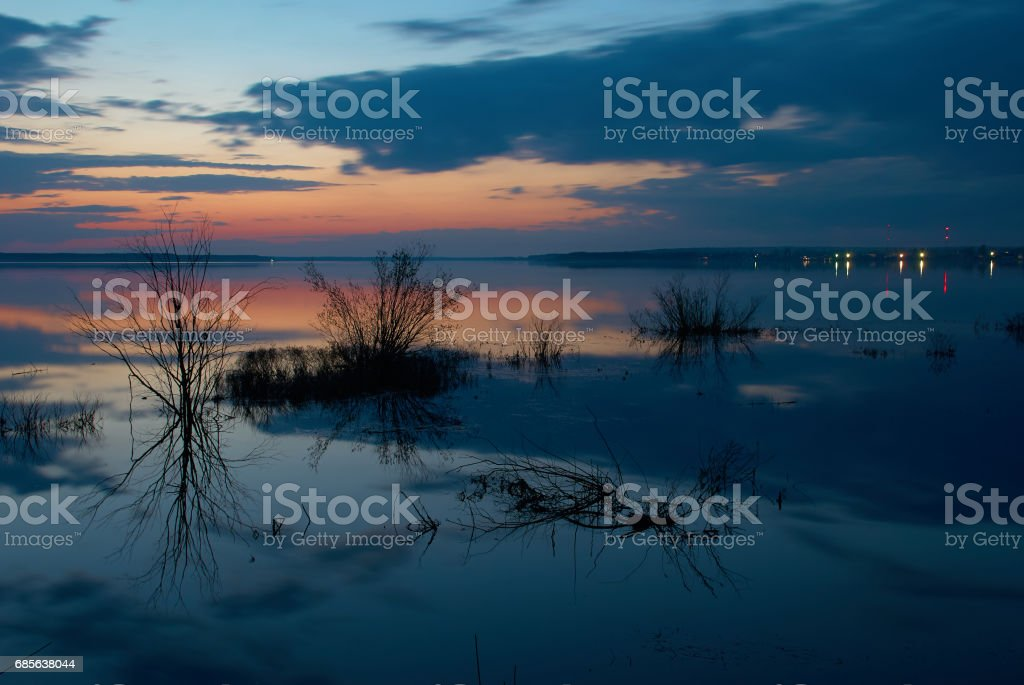 Peno lake in Russia royalty-free 스톡 사진