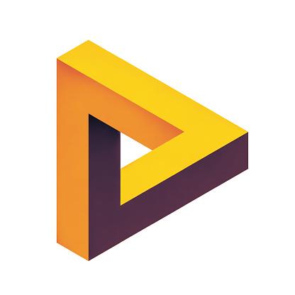 istock penrose endless loop triangle 1185667869
