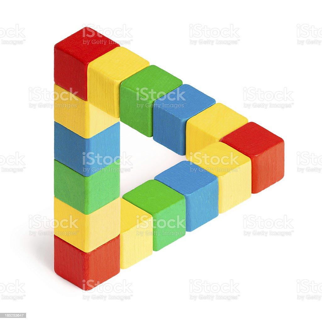 Penrose Triangle royalty-free stock photo