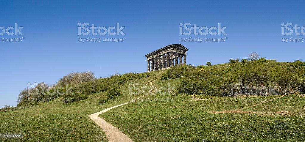 Penshaw Monument, Sunderland, Tyne and Wear, UK royalty-free stock photo