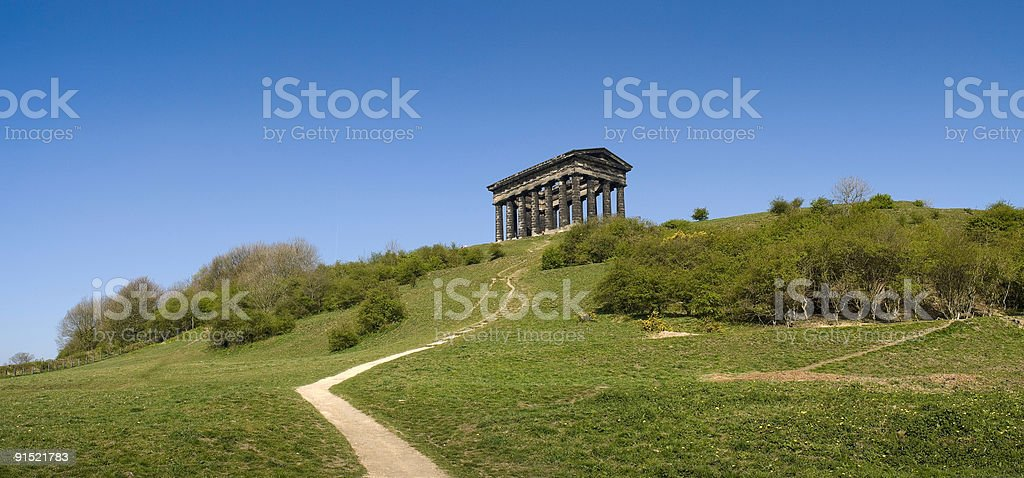 Penshaw Monument, Sunderland, Tyne and Wear, UK stock photo