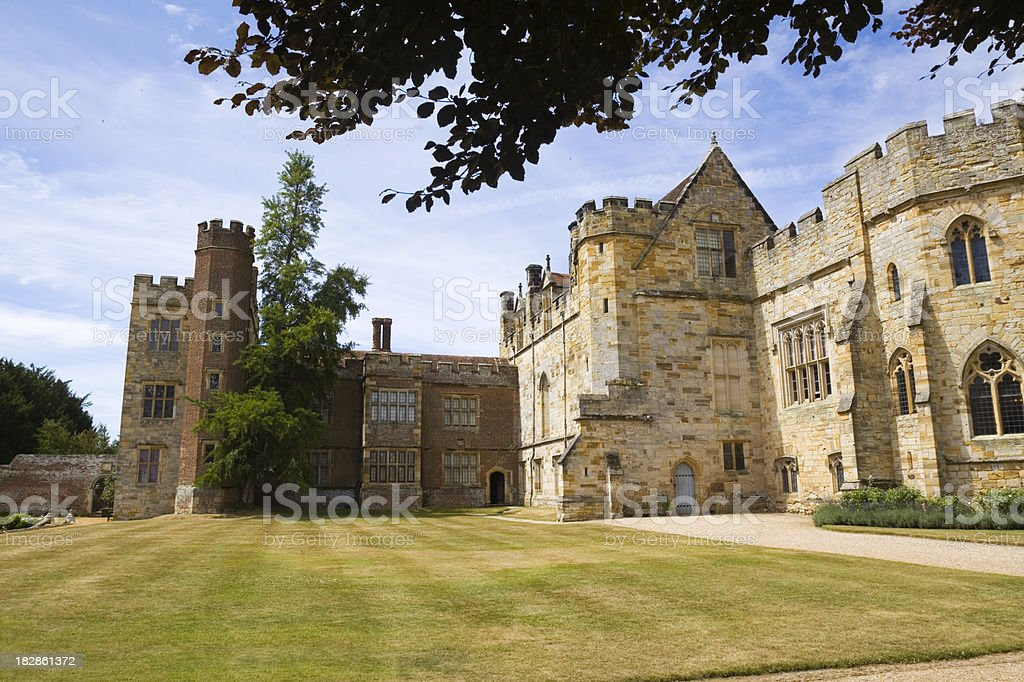 Penshurst Place & Gardens royalty-free stock photo