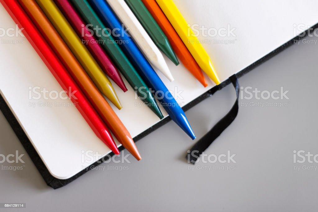 Pensils 2 foto stock royalty-free