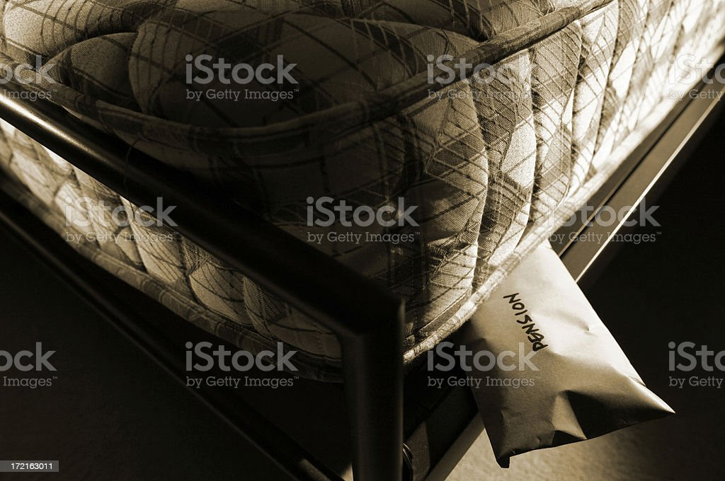 pension fund royalty-free stock photo