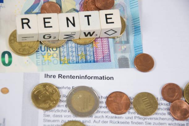 pension stock photo