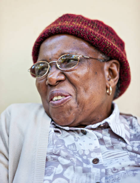 Pensioner African woman