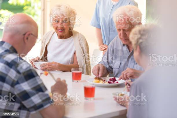 Pensioners eating lunch picture id859584276?b=1&k=6&m=859584276&s=612x612&h=deoas88leivwo4mse7u rt79ythr7kkw5sjkhzpfgre=