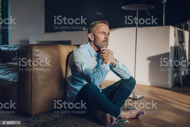 Pensive handsome bearded midaged man sitting on floor picture id815839114?b=1&k=6&m=815839114&s=612x612&h=ozf2 8pfs15ofujcjgaxkg74fgkox3clykwb9r3nkks=