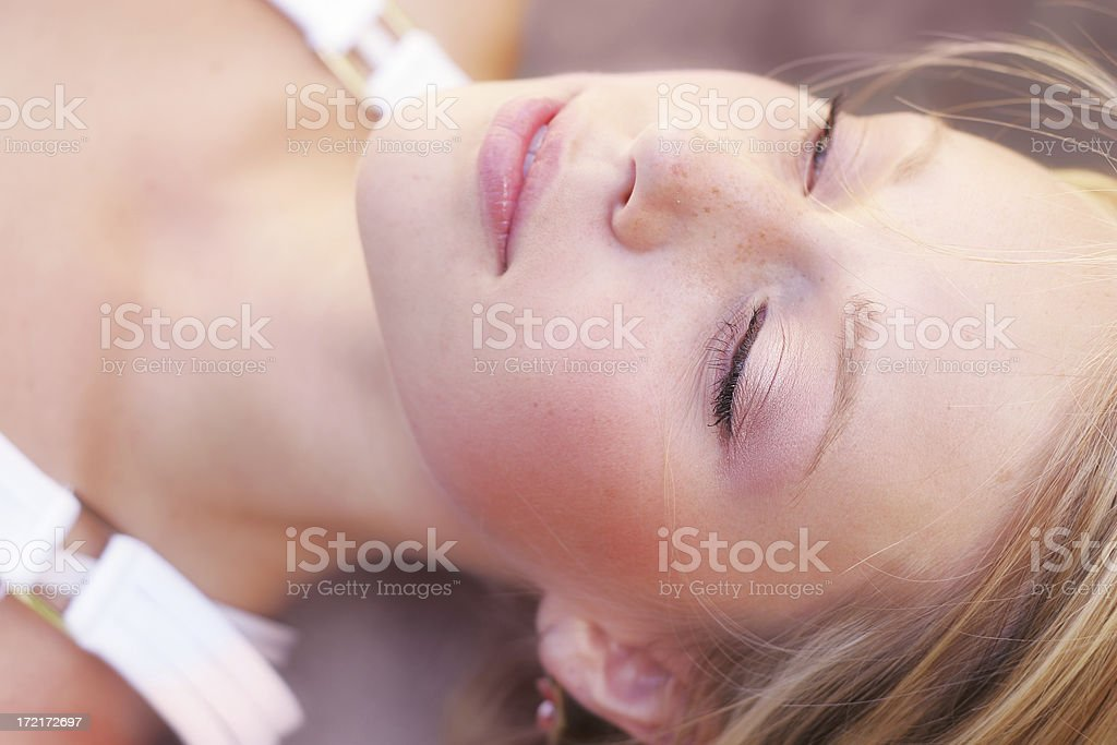 Pensive thoughts royalty-free stock photo