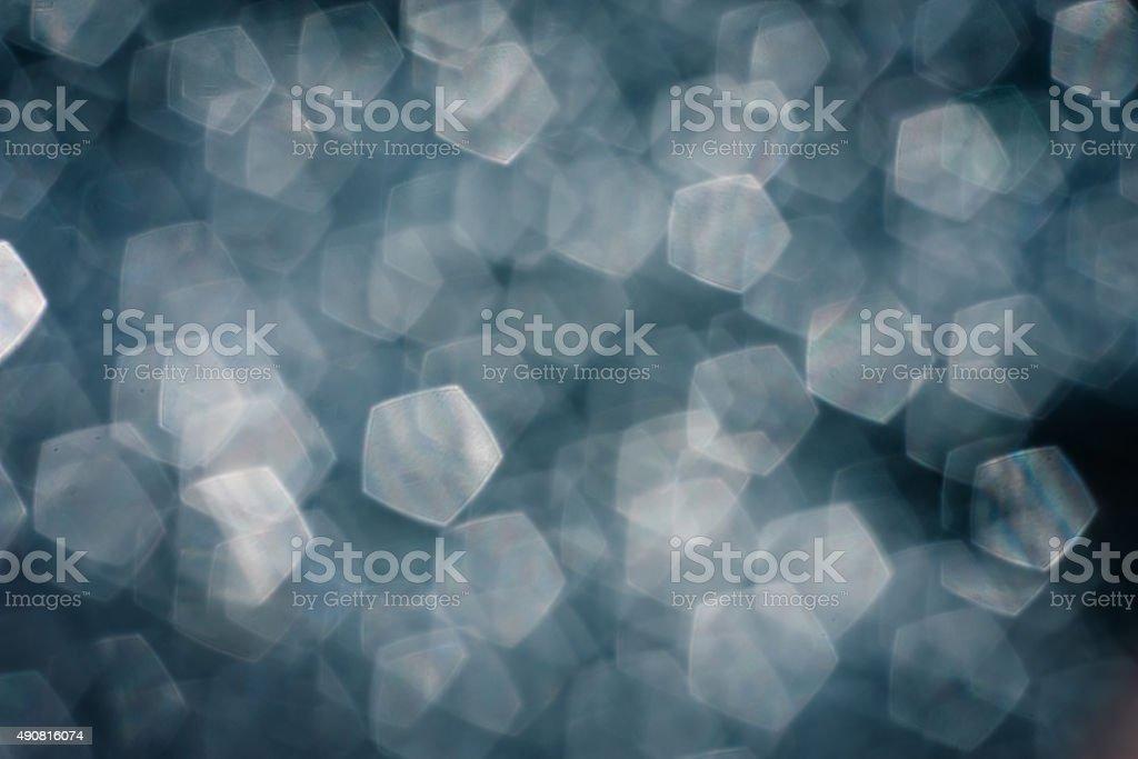 pentagon bokeh , light bokeh stock photo