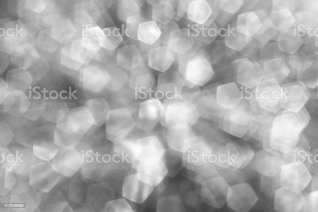 pentagon bokeh , light bokeh stock photo
