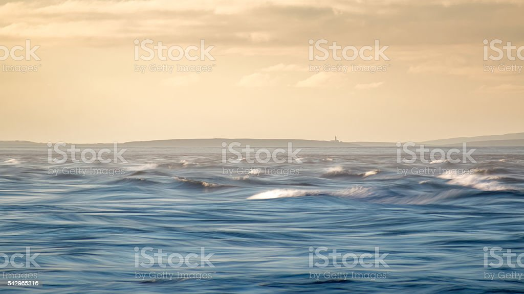 Pentland Firth Tide stock photo