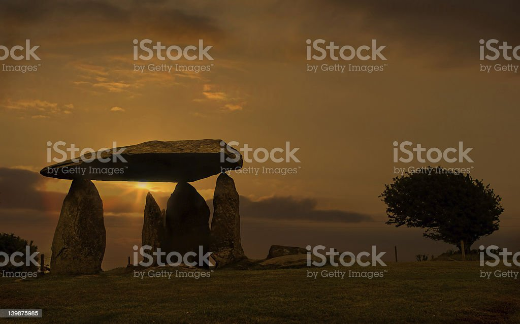 Pentre Ifan royalty-free stock photo