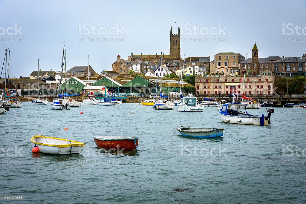 Penzance, Cornwall, UK stock photo