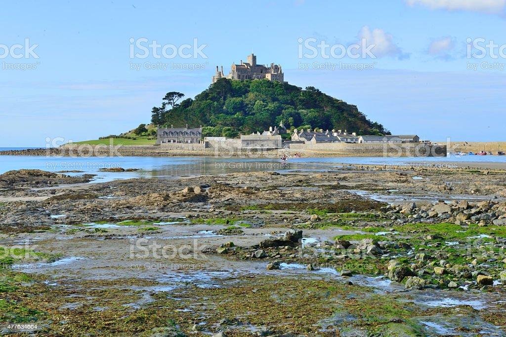 Penzance, Mount St Michel /Cornwall (England) stock photo
