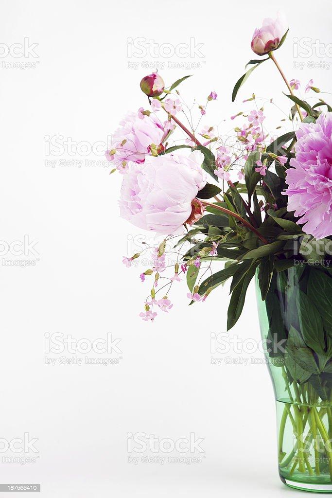 Peony bouquet royalty-free stock photo