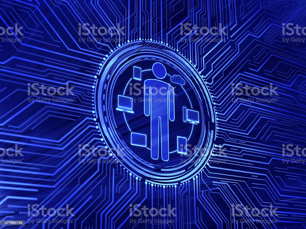 People and mobility royalty-free stock photo