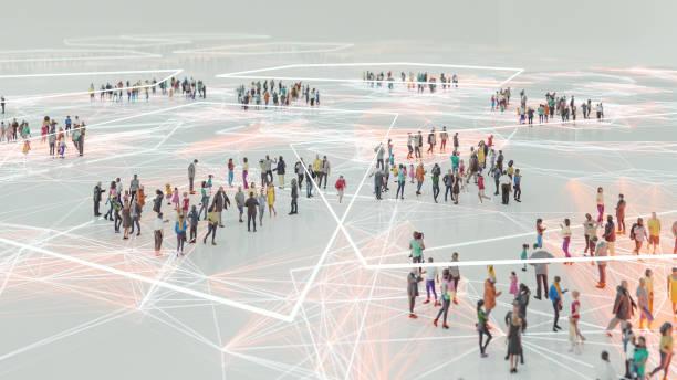 ludzie i nowoczesne połączenie technologiczne - sieć komputerowa zdjęcia i obrazy z banku zdjęć