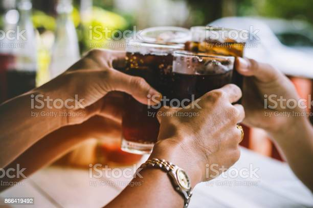 Photo of people are drinking on holiday