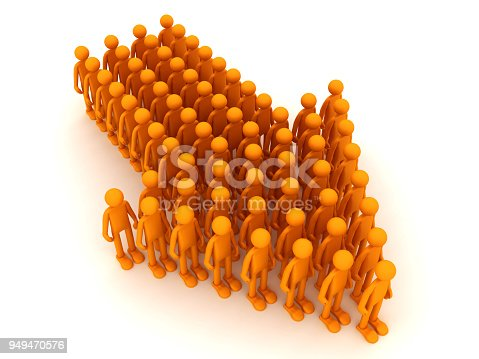 istock People are moving towards success 949470576