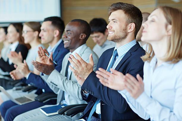 People at business training - foto de acervo