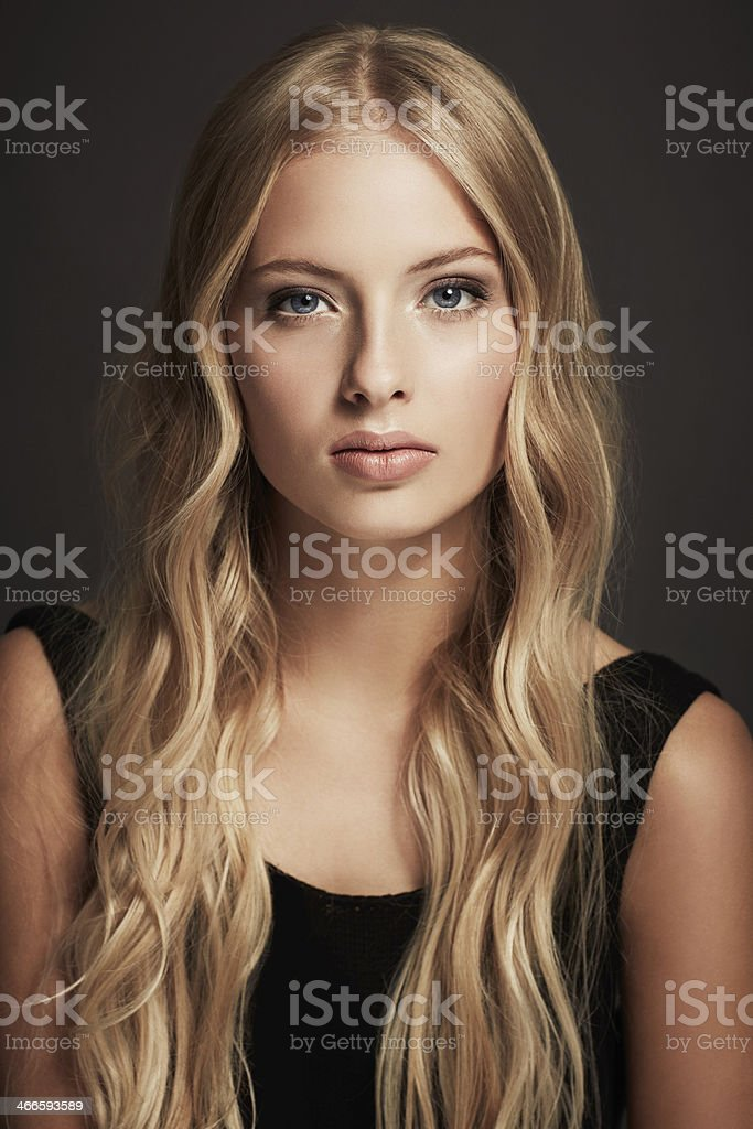 People can't keep their eyes off of her stock photo