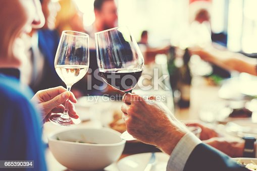 istock People Cheers Celebration Toast Happiness Togetherness Concept 665390394