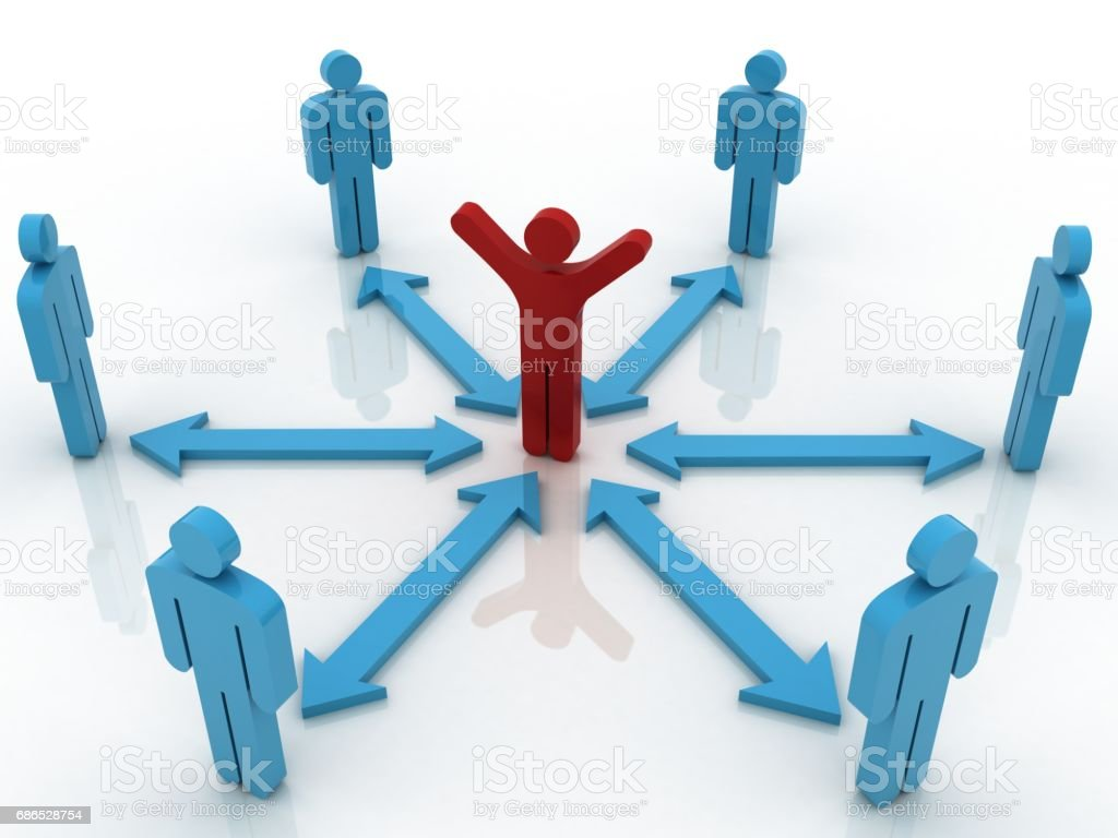 People communication team teamwork success concept foto stock royalty-free