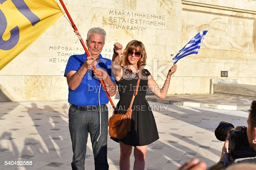 istock People demand Greek government step down 540493588