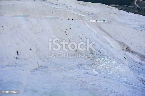 people in the far distance descend the white cliffs of Pamukkale/file_thumbview/48963526/1