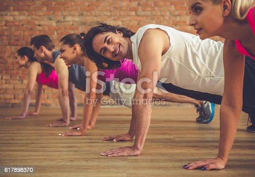 istock People doing sports 617898370