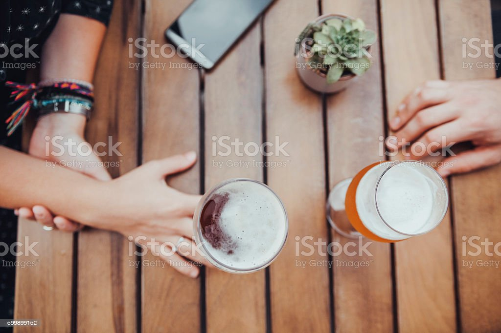 People Drinking stock photo