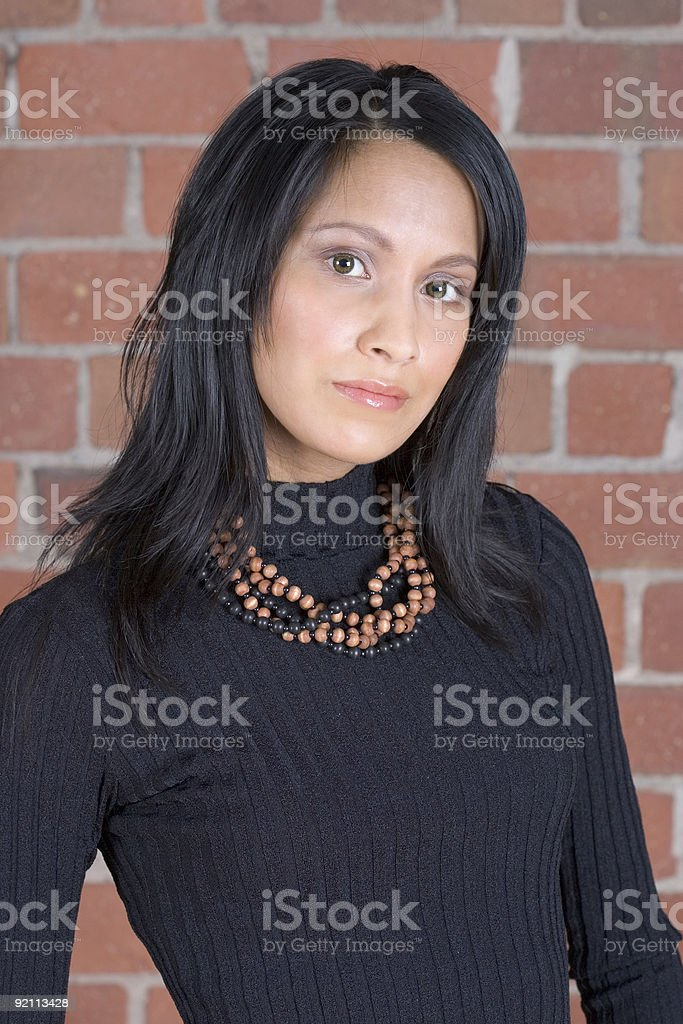 People - East Indian Woman #3 royalty-free stock photo