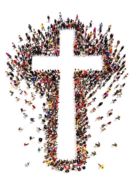 people finding christianity, religion and faith - christianity stock photos and pictures