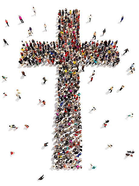 people finding christianity, religion and faith. - christianity stock photos and pictures