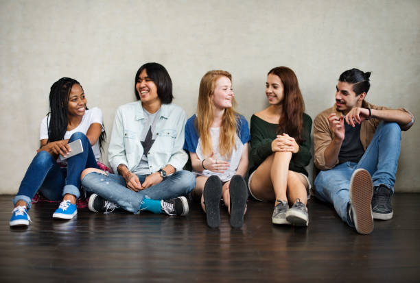 People Friendship Togetherness Activity Youth Culture Concept People Friendship Togetherness Activity Youth Culture Concept teenagers only stock pictures, royalty-free photos & images