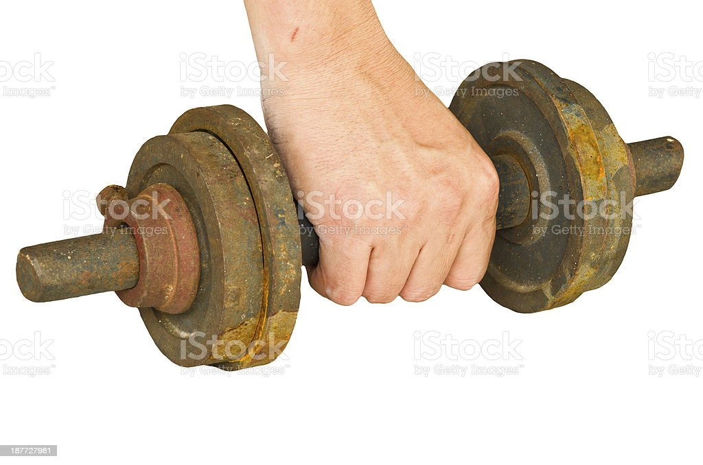 people getting busy in the gym royalty-free stock photo