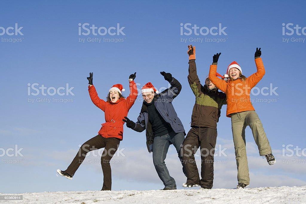 People having fun royalty-free stock photo