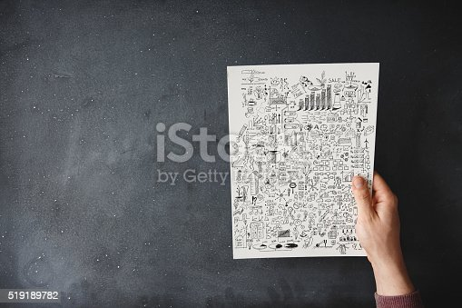 istock People holding business plan document on black desk 519189782