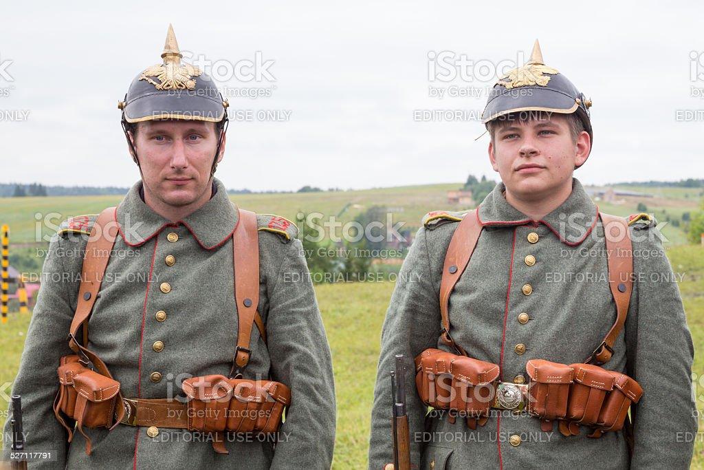 Austria Persone In Uniforme Militare Prima Guerra Mondiale In Parata Fotografie Stock E Altre Immagini Di Ambientazione Esterna Istock