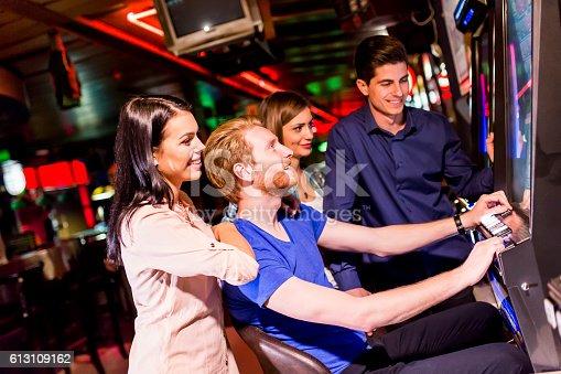 istock People in casino 613109162