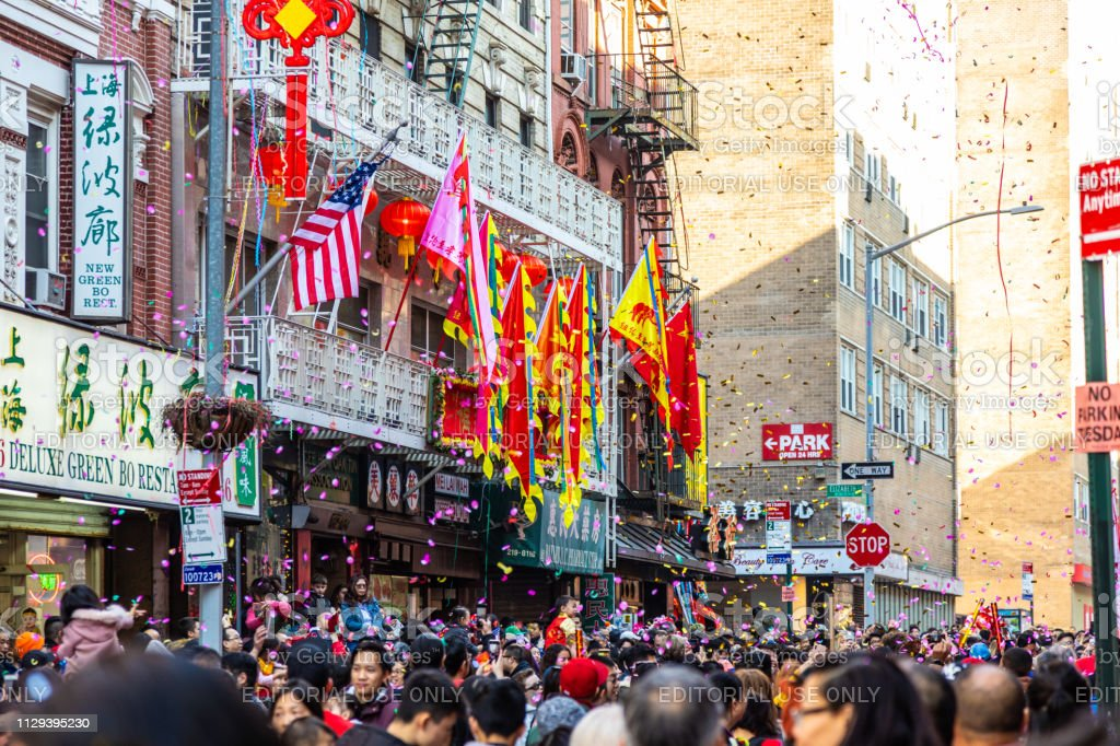 People In Chinatown New York City Stock Photo Download Image Now Istock